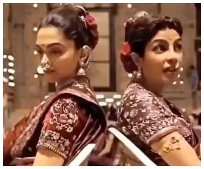 This is how Priyanka Chopra saved Deepika Padukone from falling during shooting, see video