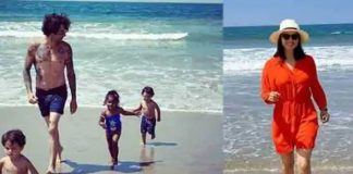 Sunny Leone having fun with children and husband in America see photos