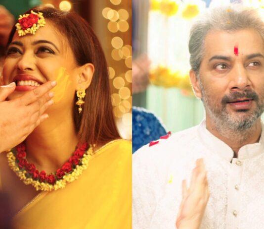 Mere Dad Ki Dulhan Nia Sharma Varun Badola Shweta Tiwari On Screen Wedding Pictures