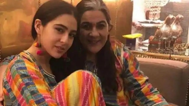 Sara Ali Khan said - Outsider-insider is differentiated in the industry, mother Amrita gives this advice