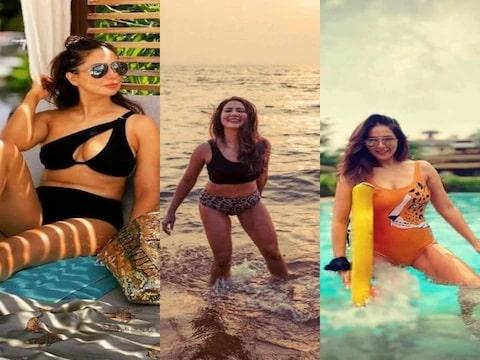 Kim Sharma's swimwear photos raise internet temperature, see you pics
