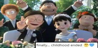 Doraemon: Nobita married Shizuka and fans started celebrating on social media this way