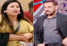 Bigg Boss 14:Salman, furious at BJP leader Sonali Phogat for threatening contestants, said - will you threaten outside, will you do it?