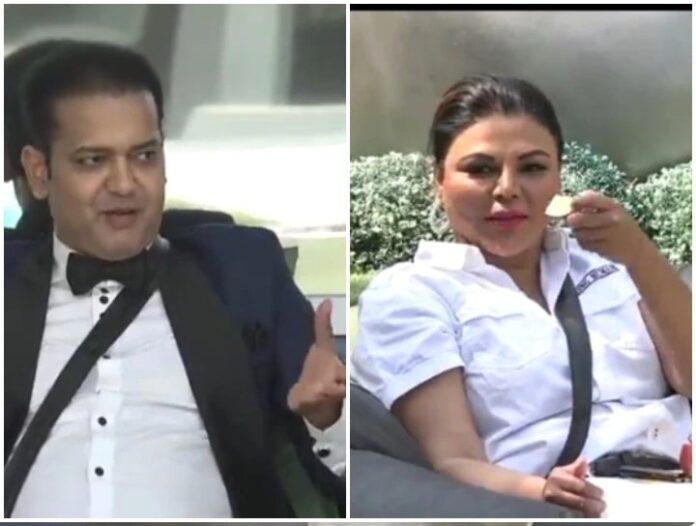 Bigg Boss 14: Rahul Mahajan opens big secret regarding Rakhi Sawant's husband, video is going viral