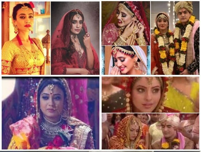 When these actresses became bride many times in reel life for TRP, you will also be surprised to see the list