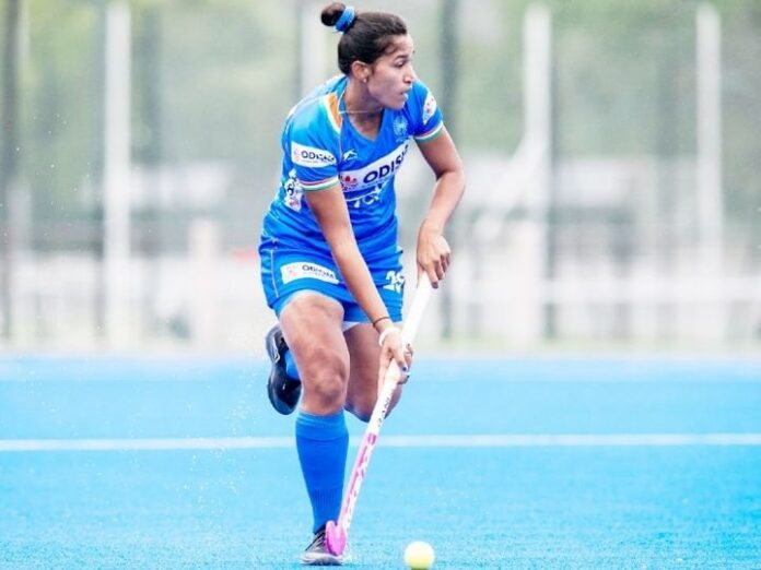 Indian women's hockey team showed strength:Team India prevented World No-2 Argentina on the draw in the last match, lost in the first 2 matches.