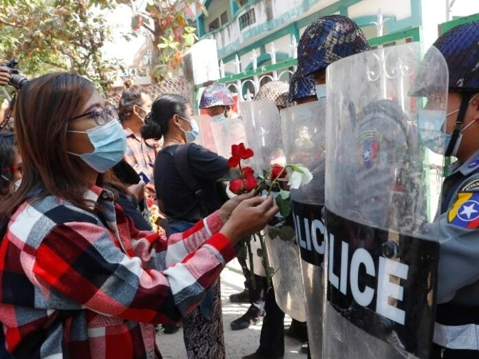 Protest against coup in Myanmar intensifies, hundreds of people take to the streets