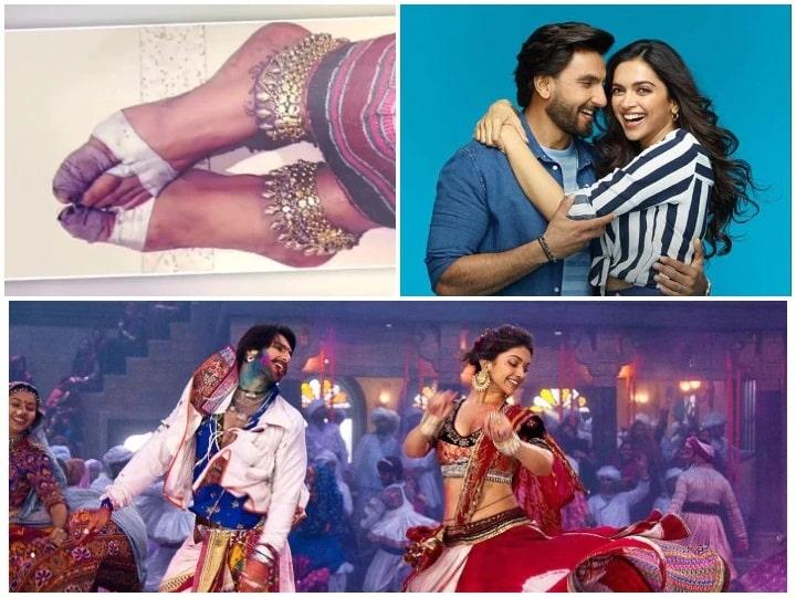 Husband Ranveer Singh told how Deepika Padukone did the dance with spilling blood