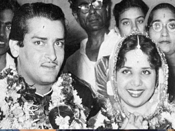 Shammi Kapoor secretly married Geeta Bali in a temple, lipstick was filled