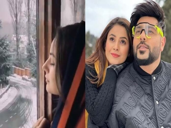 Singer Badshah is shooting video in Kashmir Valley with Shehnaaz Gill, also enjoy for Snow Fall, watch the video