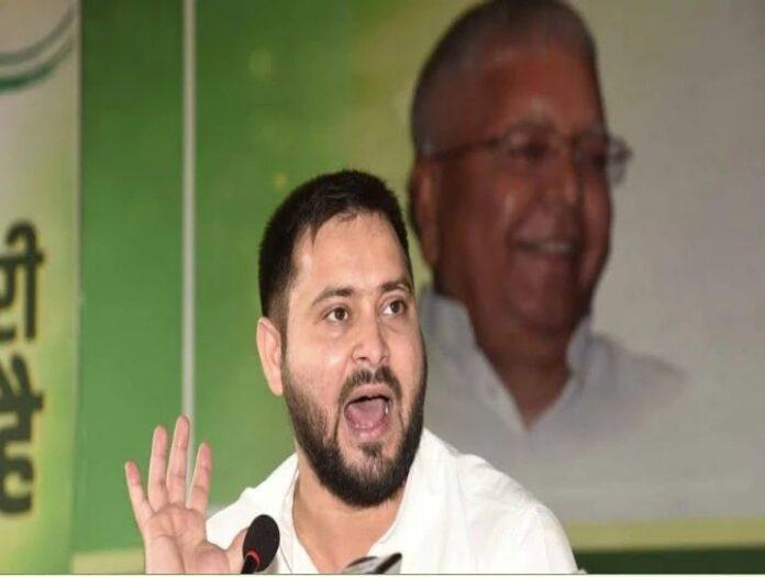 Tejashwi Yadav said on the revelations of the Rupesh murder case - police discovered 'goat'