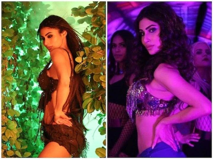 Mouni Roy did a bang dance on 'Thin Kamariya' song, the video is being seen a lot