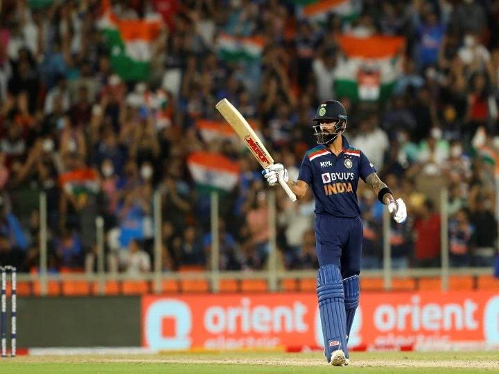 Virat Kohli made history again, becoming the first batsman to score 3000 runs in T20 International