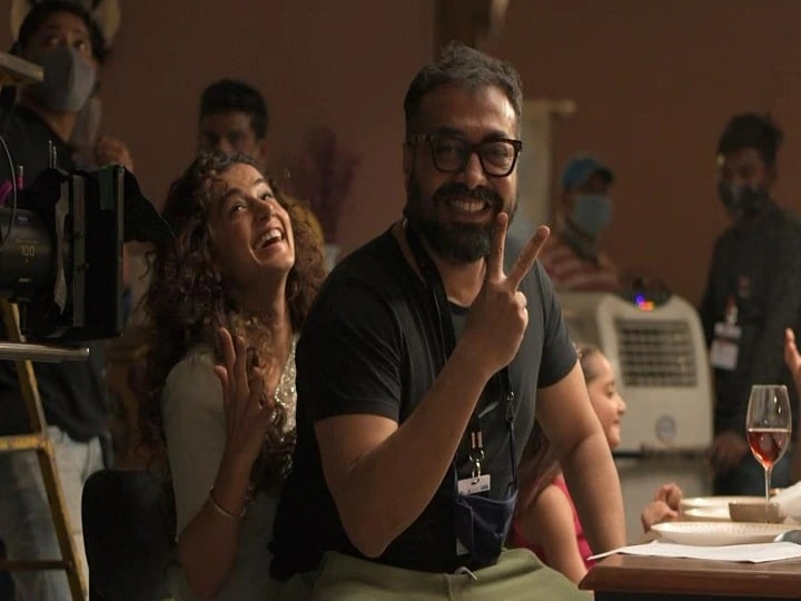 After IT raid, Anurag Kashyap-Taapsee started shooting, shared photos from film sets