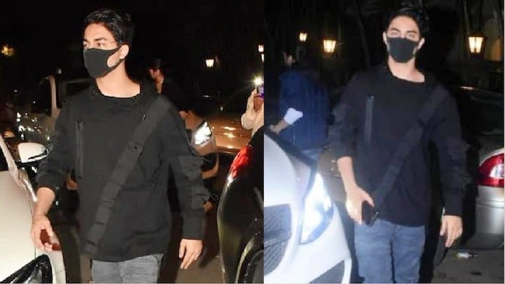Shah Rukh Khan's son Aryan Khan on Ibrahim Ali Khan's birthday, this style is becoming very viral.